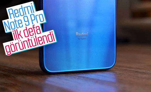 Redmi Note 9 Pro'nun ilk görüntüsü ortaya çıktı