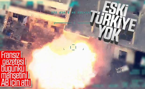 Türk SİHA'larına Fransız övgüsü