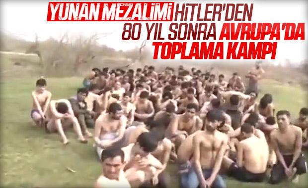 Yunan güçleri, mültecilere zulüm ediyor