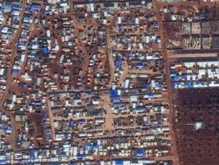 İdlib'deki yıkımın uydu görüntüleri