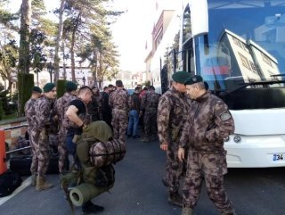 Özel Harekatçılar Edirne'ye gitti