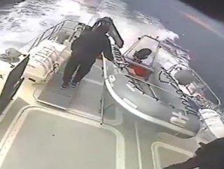 Türk Sahil Güvenlik Yunan botunu kovaladı