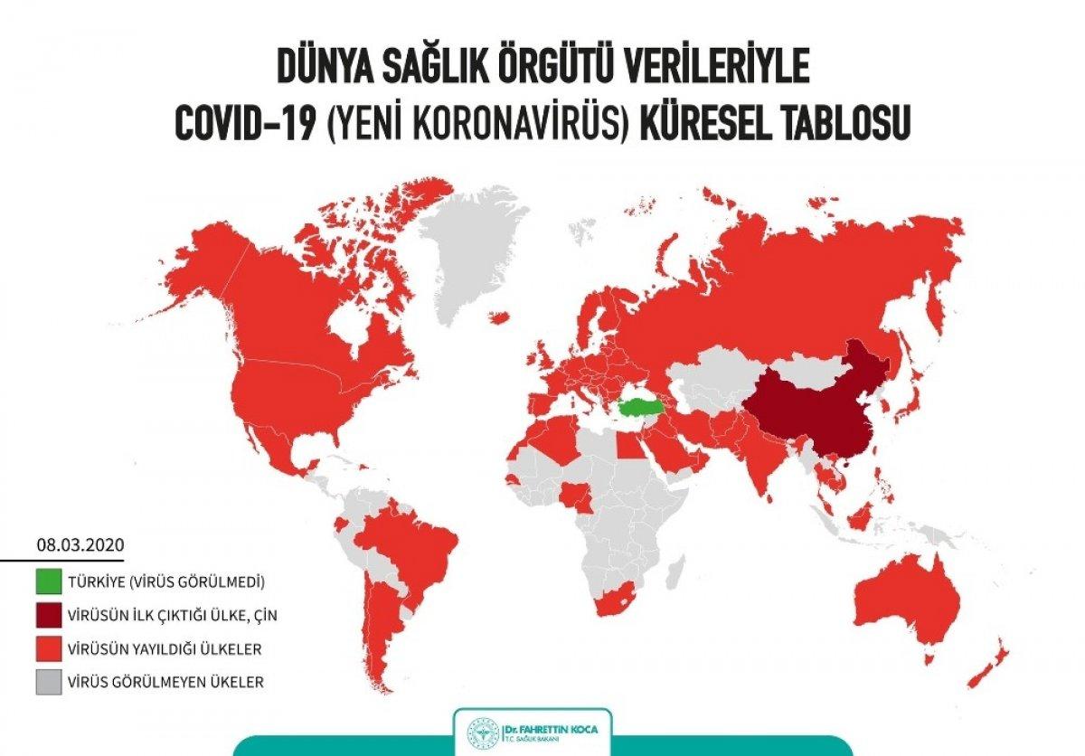 Koronavirüs Türkiye'nin çevresini dört bir yandan sardı