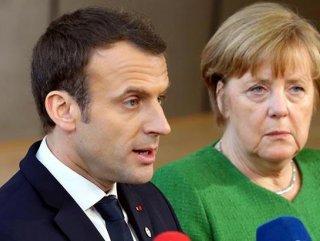 Macron ve Merkel, Türkiye'ye geliyor