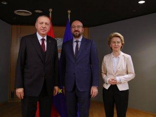 Erdoğan'nın Brüksel ziyareti AB basınının gündeminde