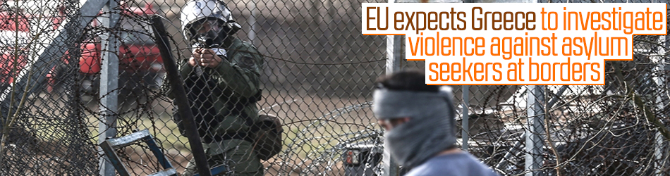 EU wants Greece to investigate police violence against refugees