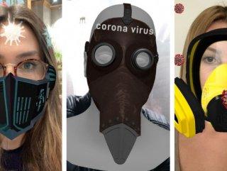 Instagram'daki koronavirüs temalı filtreler tepki çekiyor