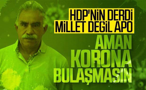 HDP, İmralı'da korona önlemi istedi