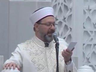 Diyanet'ten hutbe: Tedbir Mümin'den takdir Allah'tan