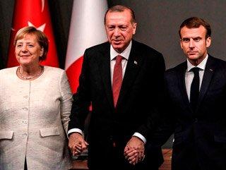 Erdoğan, Merkel ve Macron ile telekonferans ile görüşecek
