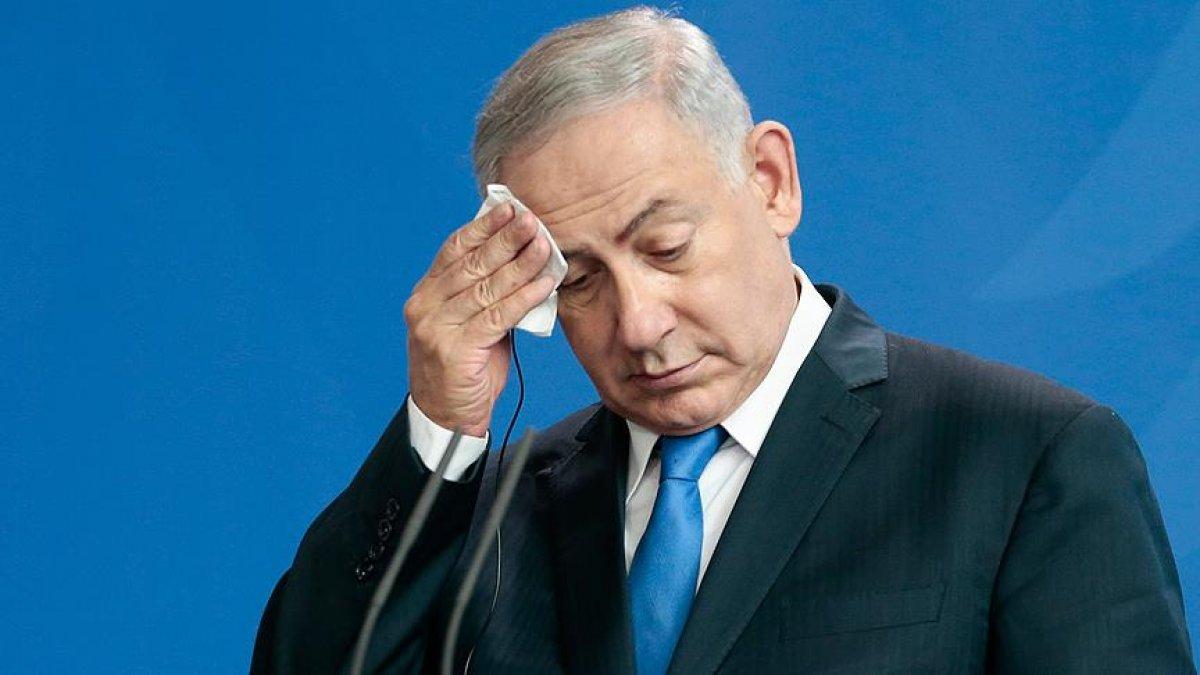 Netanyahu'da korona şüphesi