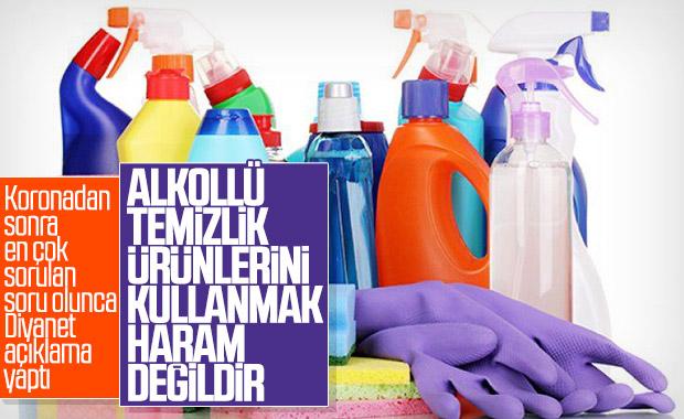 Diyanet: Alkollü temizlik ürünlerinin kullanımı caizdir