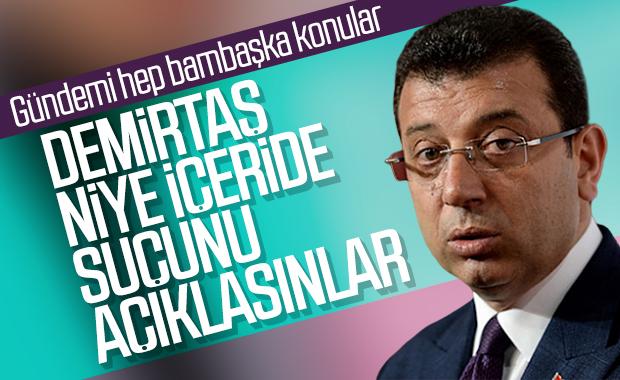 Ekrem İmamoğlu, Demirtaş'ın tutuklanmasını değerlendirdi