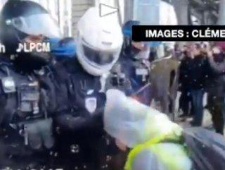 Sarı Yelekliler, polisi korona ile korkuttu