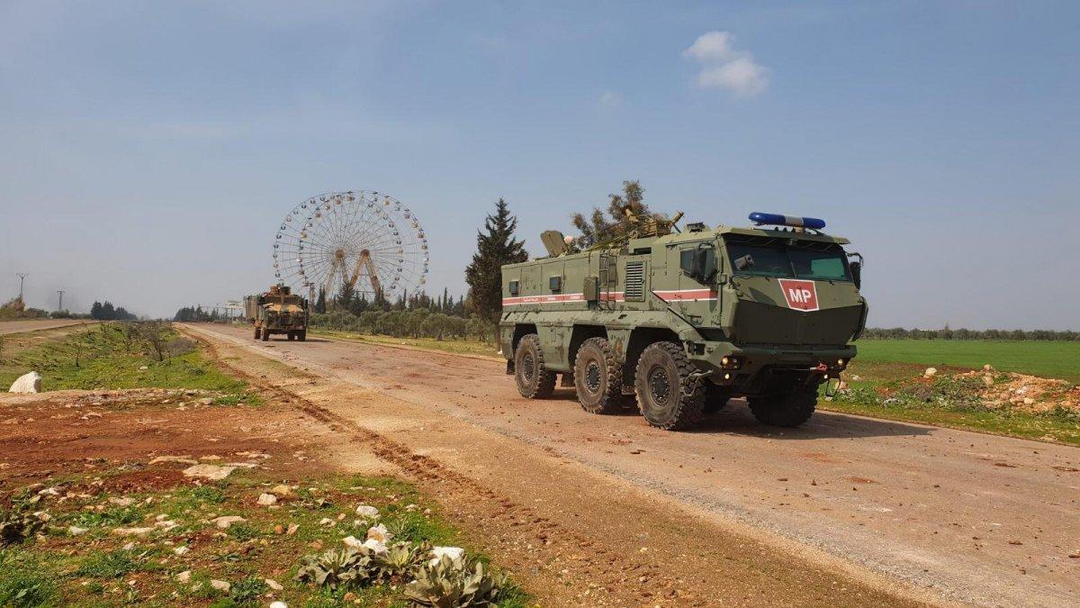 İdlib'de ilk ortak devriye bitti