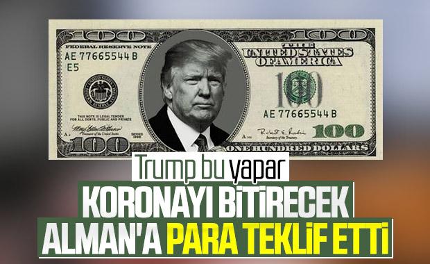 Trump, Alman bilim adamlarına para teklif etti iddiası
