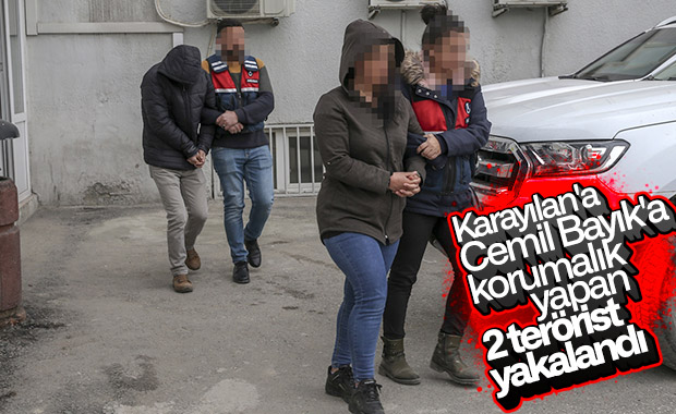 PKK elebaşlarının koruması 2 terörist, Van'da yakalandı