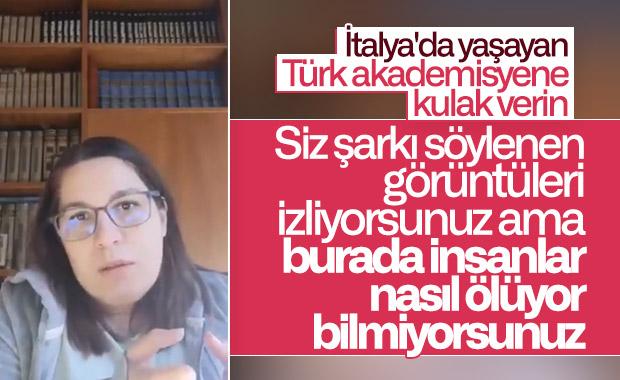 İtalya'da yaşayan Türk akademisyen son durumu anlattı