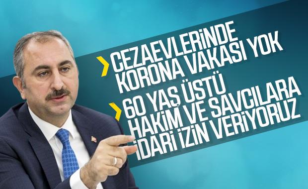 Adalet Bakanı Gül, yargıda korona önlemlerini açıkladı