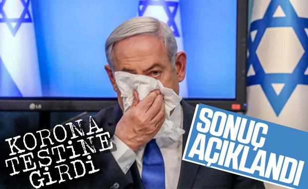 Netanyahu korona testi yaptırdı