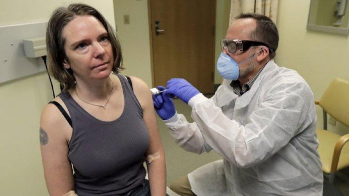 Korona aşısı ilk kez denendi