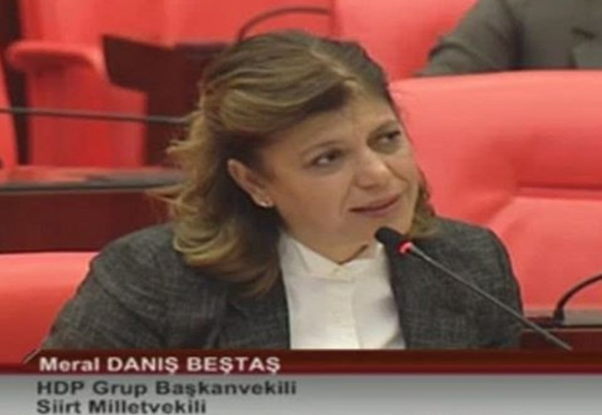 HDP'li Meral Danış Beştaş karantinaya uymadı