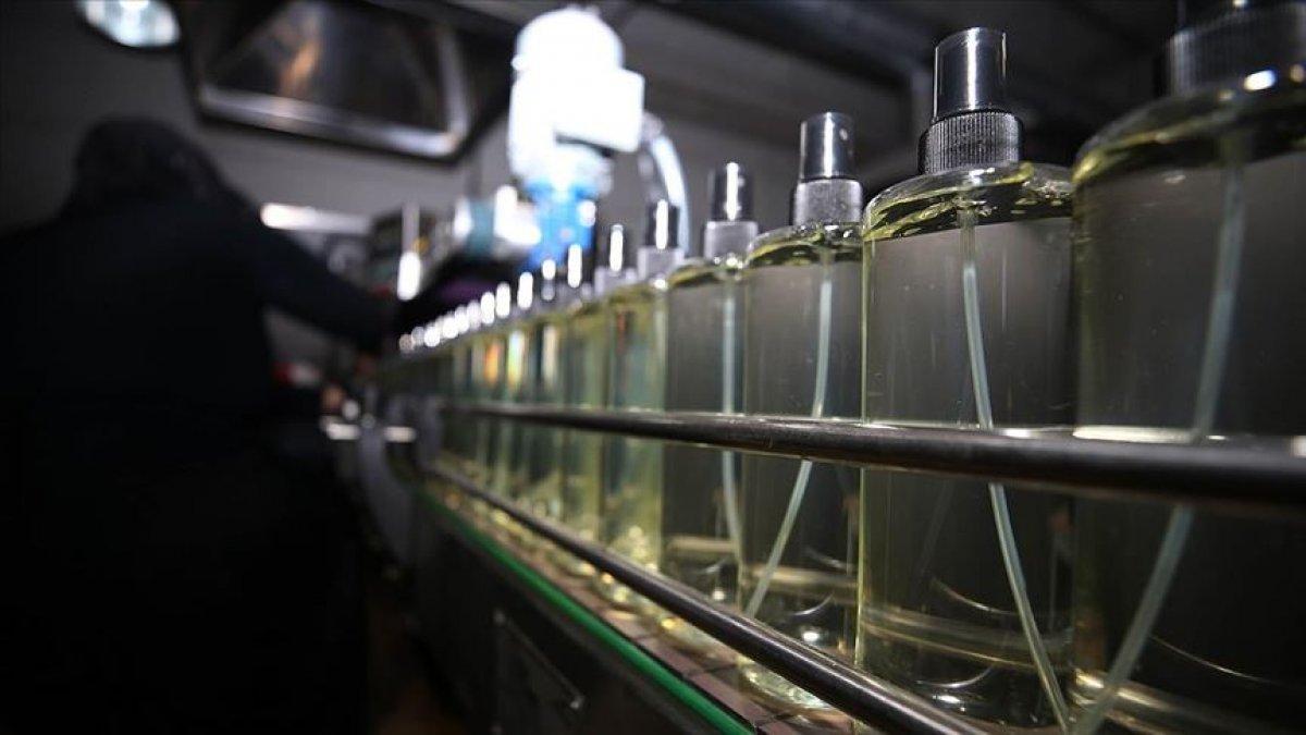 Dezenfektan, kolonya ve etil alkol ihracı kayda bağlandı