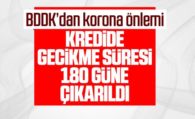 BDDK, kredi borcunda gecikmesi süresini 180 gün yaptı