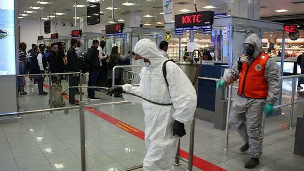 KKTC'de 72 ülkenin vatandaşlarına karantina