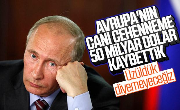 Rusya'nın AB karşısındaki kaybı 50 milyar dolar