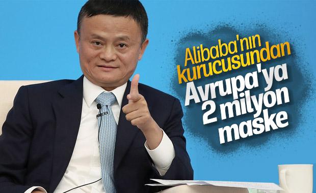Alibaba'nın kurucusu Avrupa'ya 2 milyon maske bağışladı
