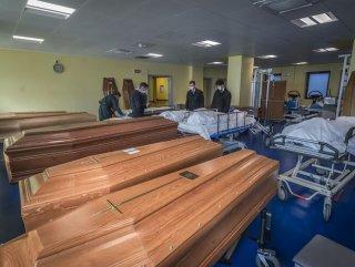 İtalya'da cenaze işlemlerine yetişilemiyor