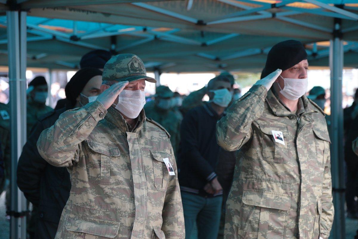İdlib şehidi Kahramanmaraş'ta son yolculuğuna uğurlandı