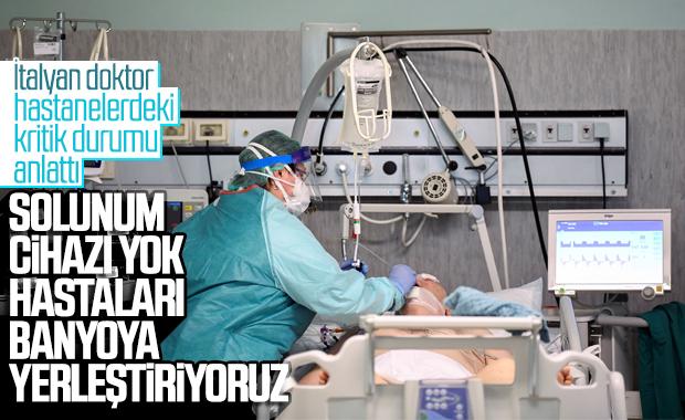 İtalyan doktor hastanelerdeki kritik durumu anlattı