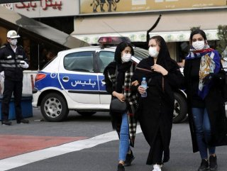 İran'da koronadan ölen sayısı 1556'ya yükseldi