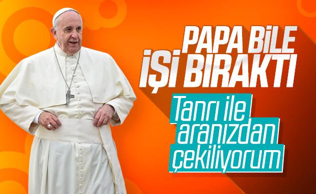 Papa'dan kiliseye gidemeyenlere dua önerisi
