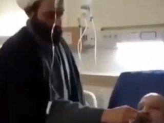 İran'da din adamlarından korona hastalarına kokulu tedavi