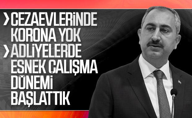 Adalet Bakanı Gül, yargıdaki virüs tedbirlerini açıkladı