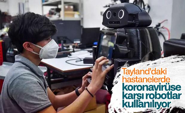 Koronavirüse karşı robot kullanan ülkelere Tayland da eklendi