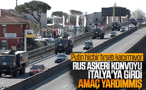 Rusya'nın tıbbi yardımı İtalya'ya ulaştı