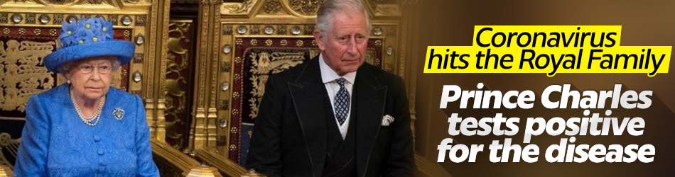 UK's Prince Charles tests positive for coronavirus