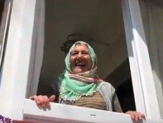 Tedbir amaçlı oğlu tarafından eve kilitlenen kadın