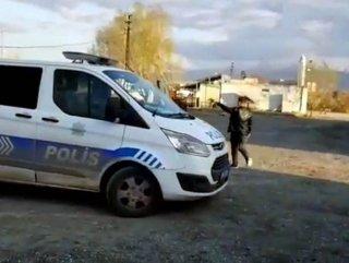 Iğdır'da korona şüphelisi adam hastaneden kaçtı