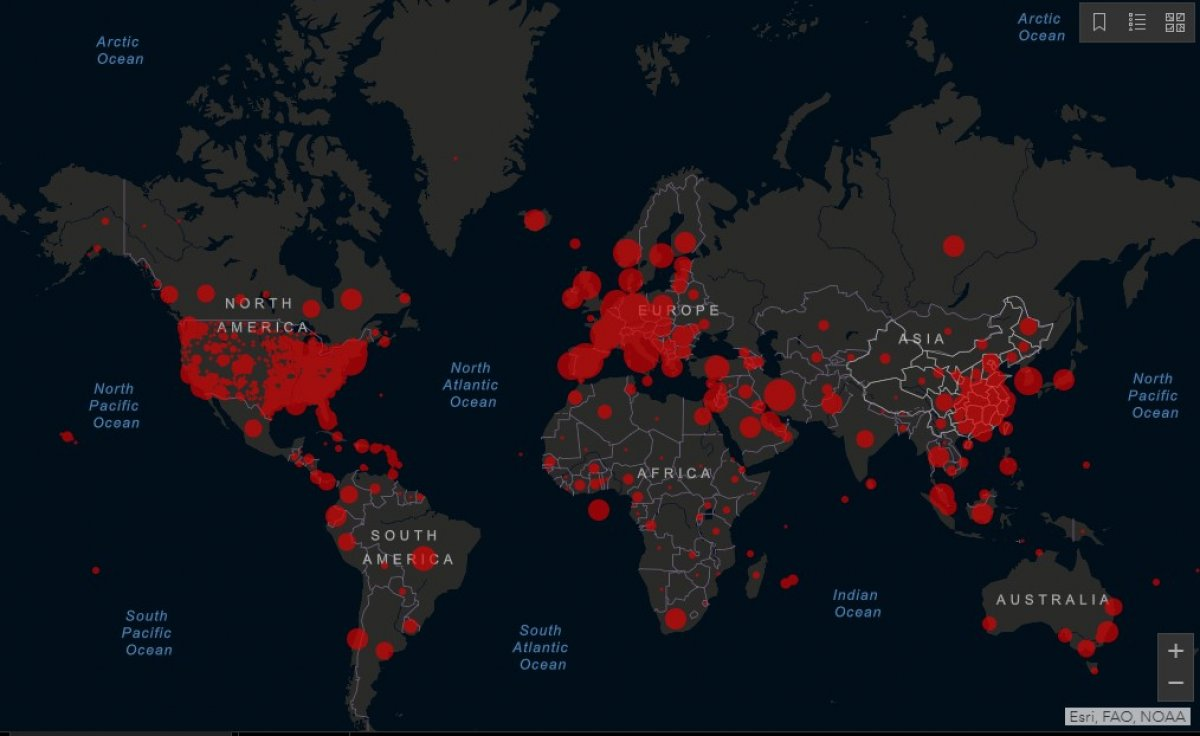 Dünya genelinde koronavirüs bulaşan kişi sayısı 500 bini aştı