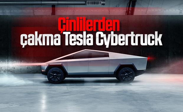 Çinliler, Tesla Cybertruck'ın çakmasını üretti