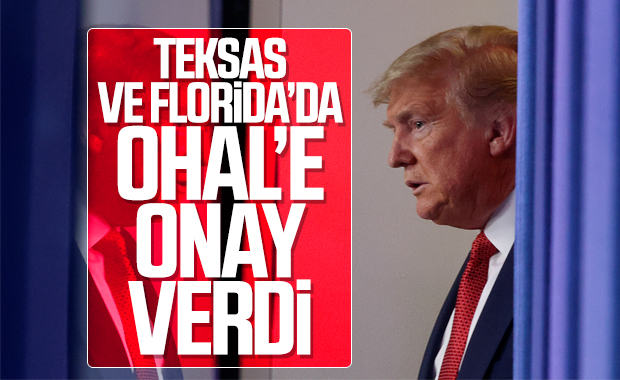 ABD'nin Teksas ve Florida eyatlerinde OHAL ilan edildi