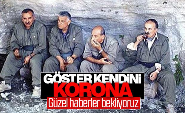 Koronavirüs PKK'lı teröristlere de bulaştı