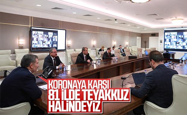 Türkiye'de koronaya karşı mücadele kararlılığı