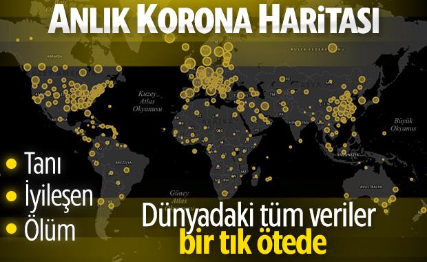 Online Koronavirüs Bilgilendirme Ekranı – İşte Türkiye ve Dünya'dan Anlık Veriler