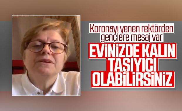 Kadir Has Üniversitesi Rektörü koronavirüsü yendi